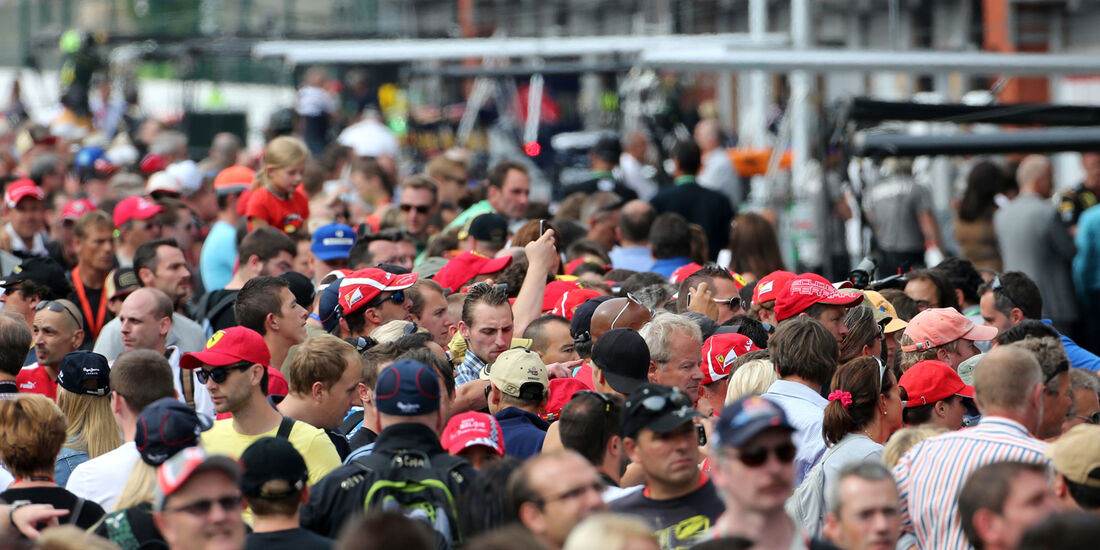 Fans - Formel 1 - GP Belgien - Spa-Francorchamps - 22. August 2013