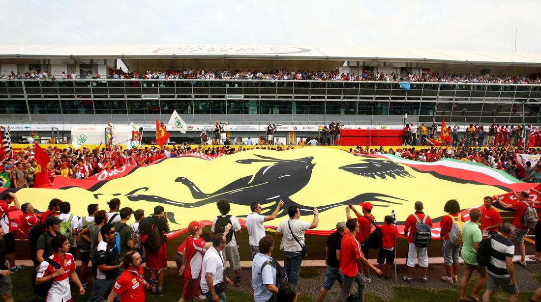 Fans - Formel 1 - GP Italien 2013