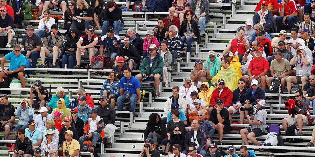 Fans - Formel 1 - GP Kanada - 8. Juni 2012