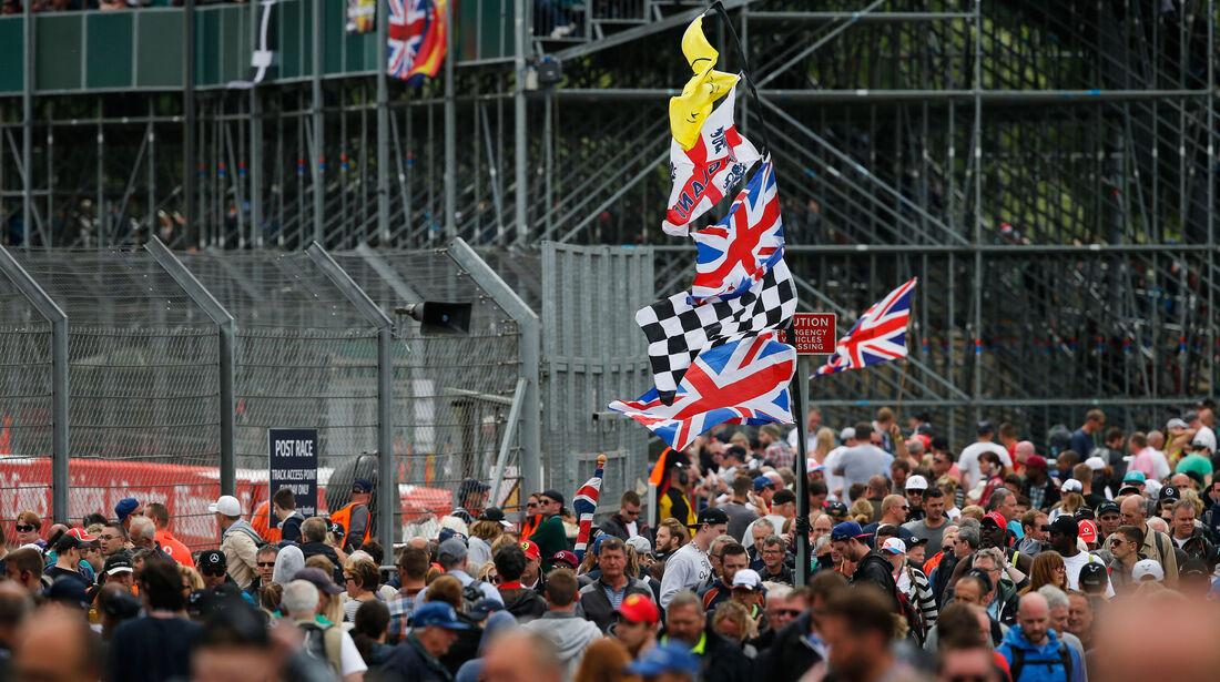 Fans - GP England - Silverstone - Qualifying - Samstag - 9.7.2016