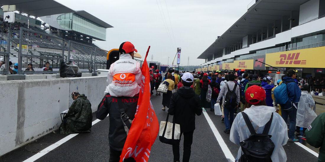 Fans - GP Japan - Suzuka - Donnerstag - 4.10.2018