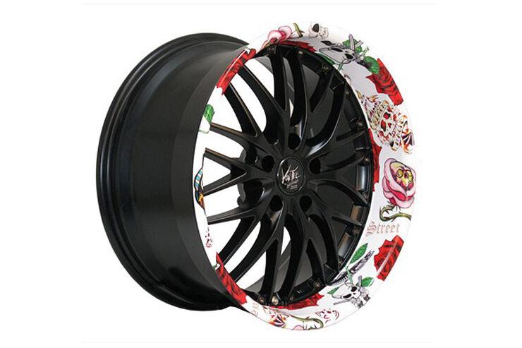 Felge BARRACUDA RACING WHEELS Wheelz Art Felgensommer