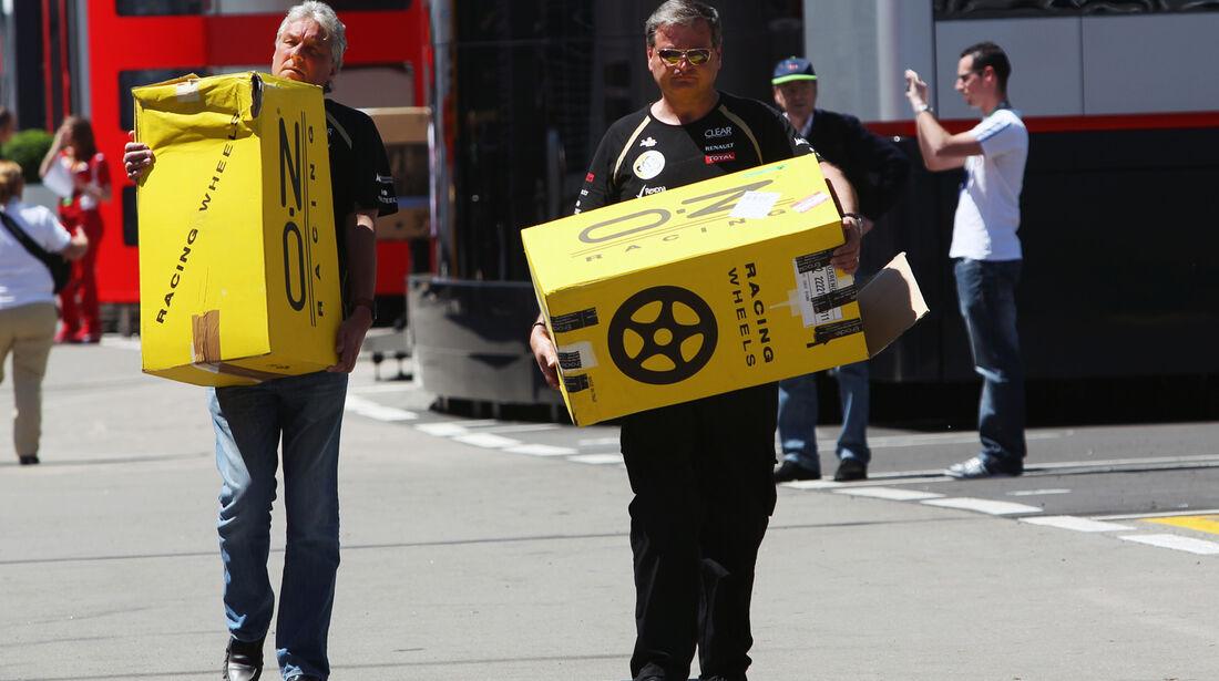 Felgen - GP Spanien - 10. Mai 2012