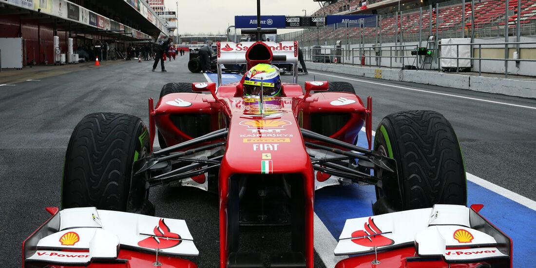 Felipe Massa - Barcelona F1 Test 2013