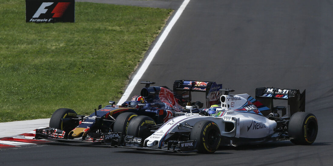 Felipe Massa - Daniil Kvyat - Formel 1 - GP Ungarn - 24. Juli 2016