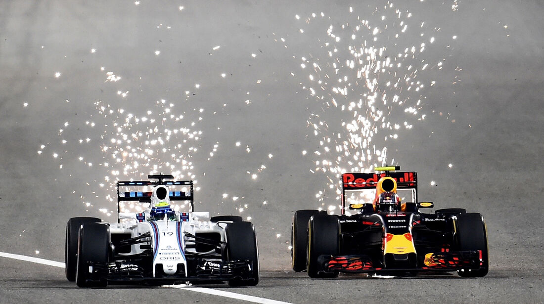 Felipe Massa & Daniil Kvyat - GP Bahrain 2016