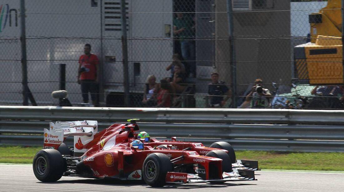 Felipe Massa Fernando Alonso - Formel 1 - GP Italien - 09. September 2012