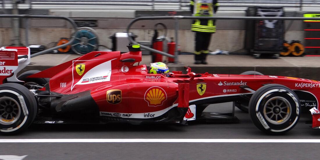 Felipe Massa - Ferrari - Formel 1 - GP Deuschland - 5. Juli 2013