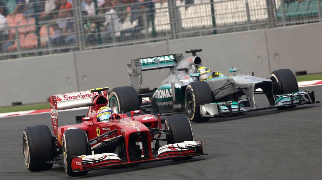 Felipe Massa - Ferrari - Formel 1 - GP Indien - 27. Oktober 2013