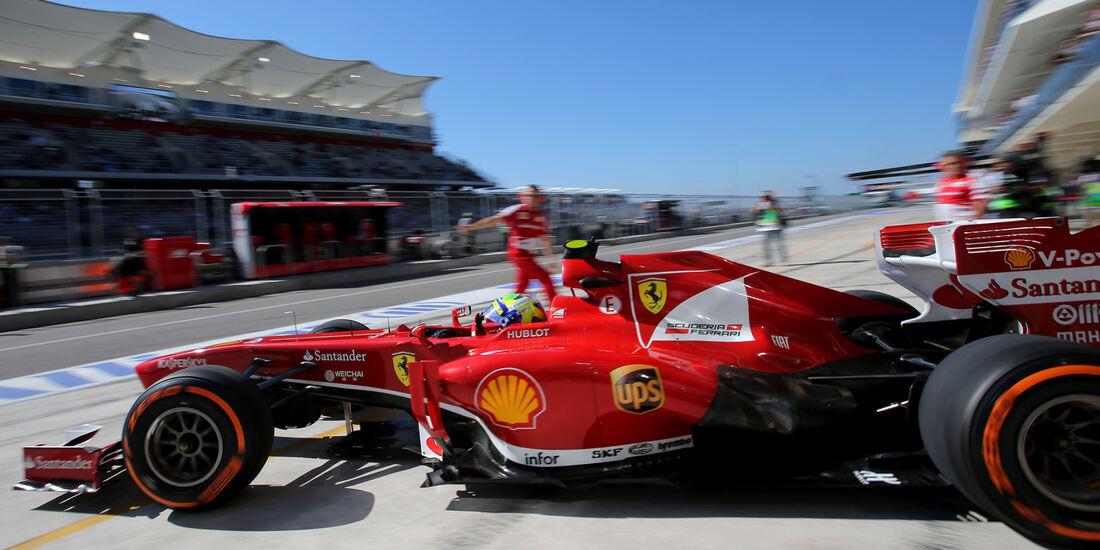 Felipe Massa - Ferrari - Formel 1 - GP USA - 15. November 2013