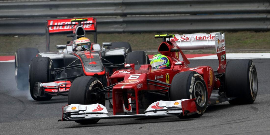 Felipe Massa GP China 2012