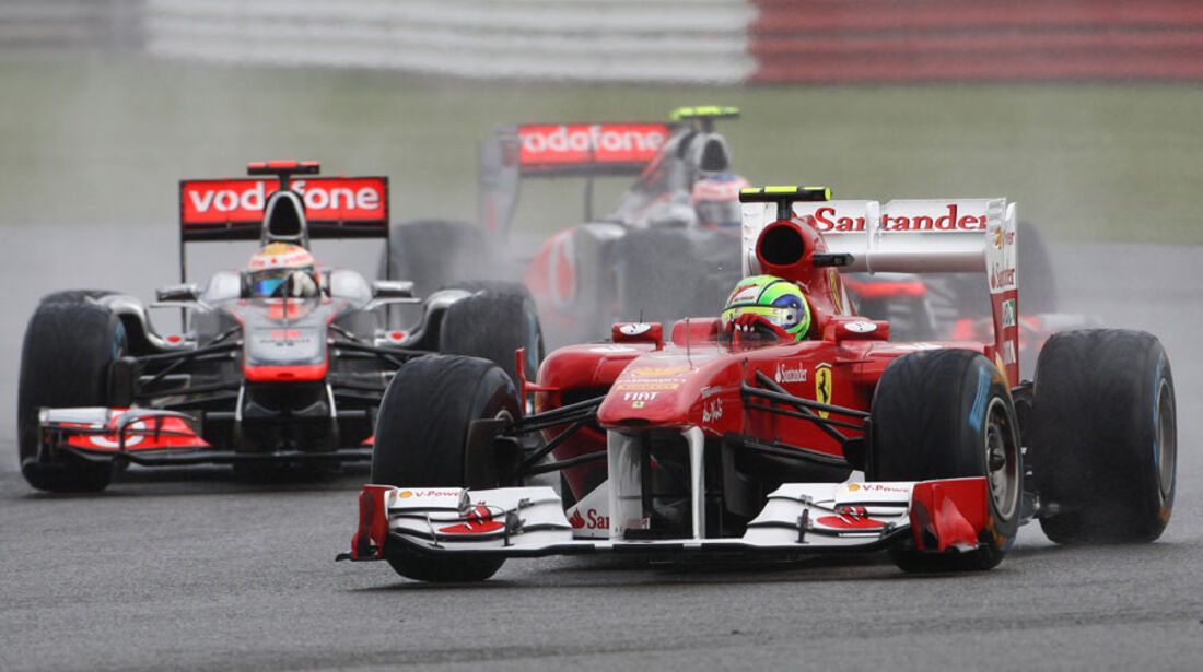 Felipe Massa GP England 2011 Rennen