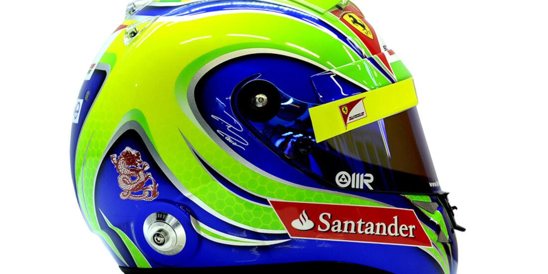 Felipe Massa Helm 2012