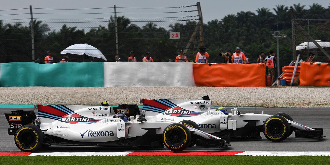 Felipe Massa & Lance Stroll - GP Malaysia 2017