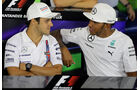 Felipe Massa & Lewis Hamilton - Formel 1 - GP England - Silverstone - 3. Juli 2014