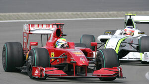 Felipe Massa & Rubens Barrichello