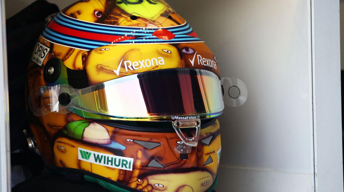 Felipe Massa - Spezialhelm - GP Monaco 2016