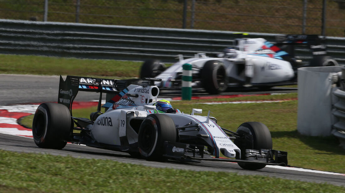 Felipe Massa - Valtteri Bottas - Williams - GP Malaysia 2015 - Formel 1
