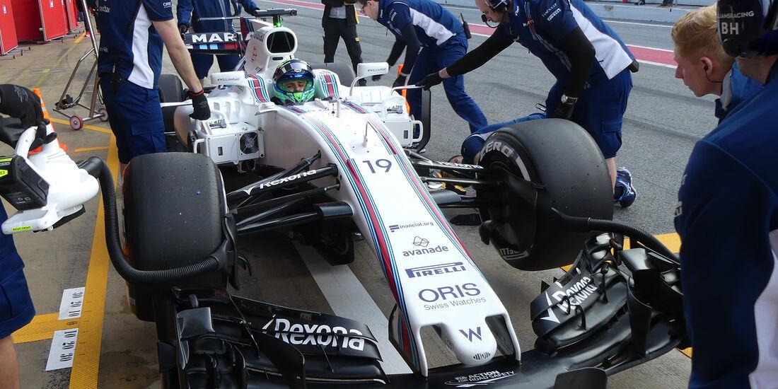Felipe Massa - Williams - F1-Test - Barcelona - 27. Februar 2017