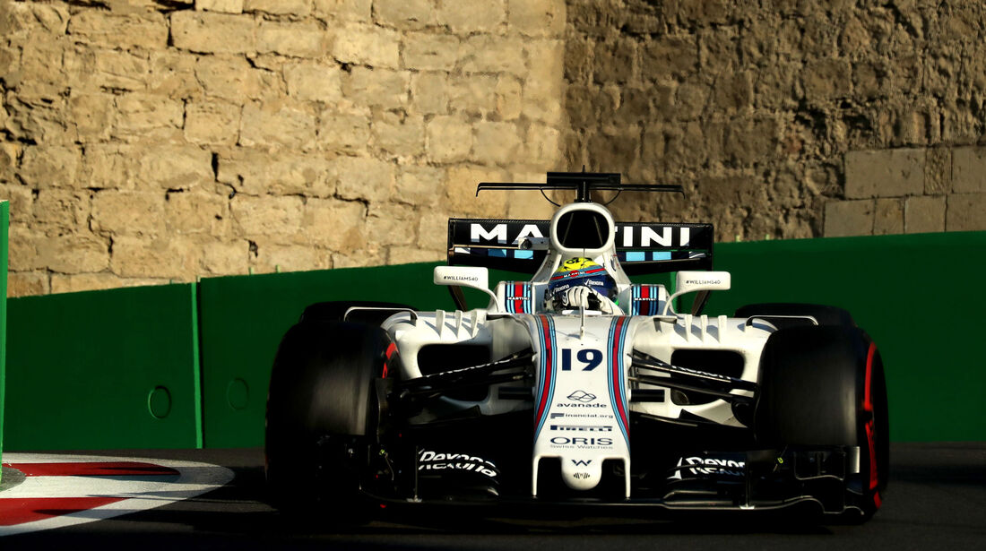 Felipe Massa - Williams - Formel 1 - GP Aserbaidschan 2017 - Training - Freitag - 23.6.2017