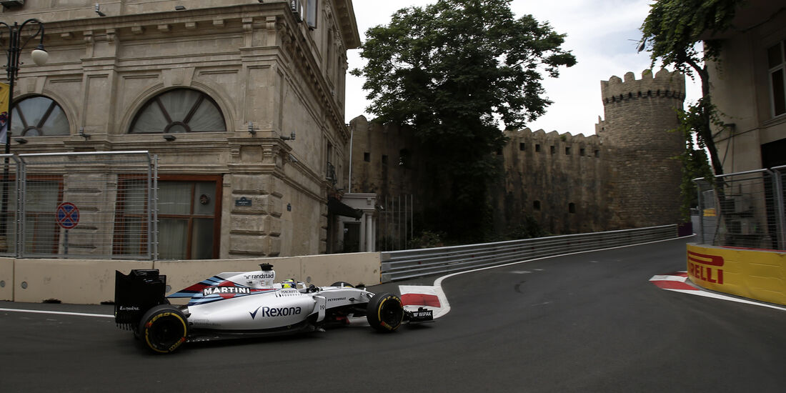 Felipe Massa - Williams - Formel 1 - GP Aserbaidschan - Baku - 17. Juni 2016
