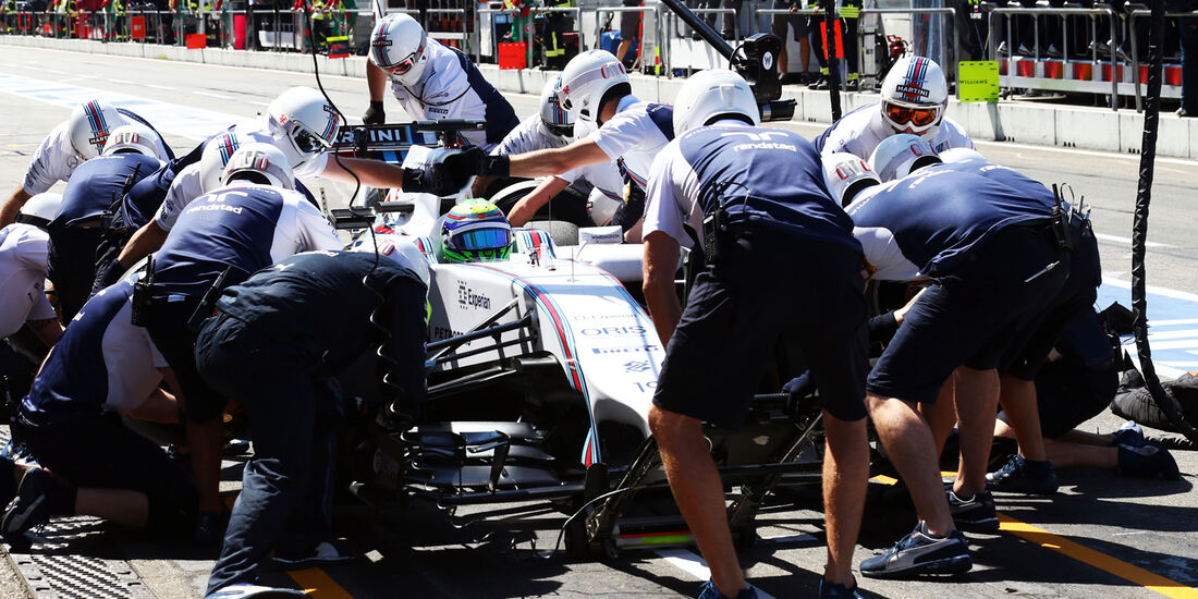 Felipe Massa - Williams - Formel 1 - GP Deutschland - Hockenheim - 18. Juli 2014