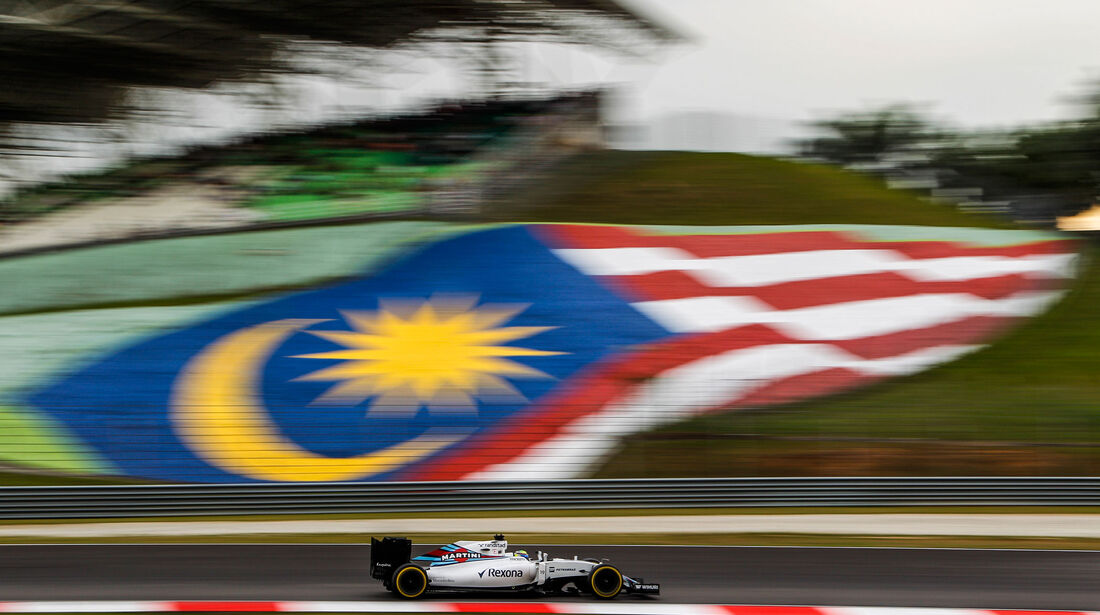 Felipe Massa - Williams - Formel 1 - GP Malaysia - Qualifying - 1. Oktober 2016