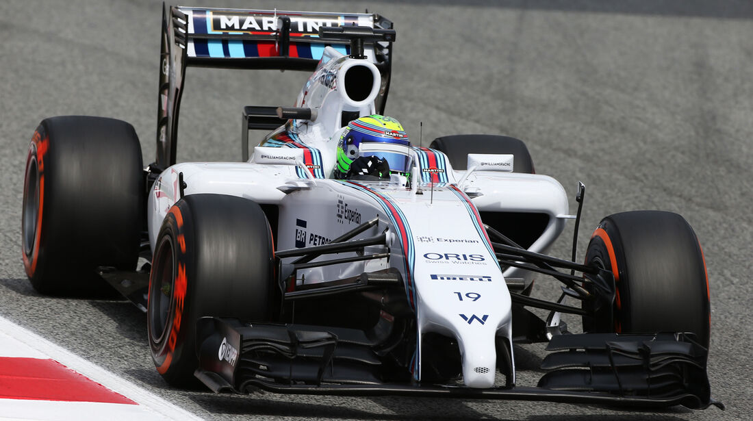 Felipe Massa - Williams - Formel 1 - GP Spanien - Barcelona - 10. Mai 2014