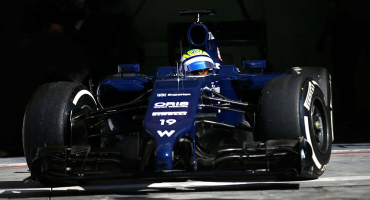 Felipe Massa  - Williams - Formel 1 - Test - Bahrain - 1. März 2014