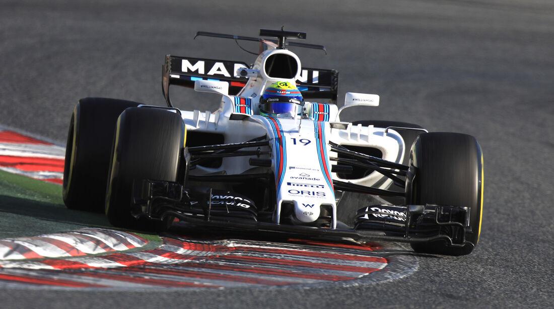 Felipe Massa - Williams - Formel 1 - Test - Barcelona - 9. März 2017