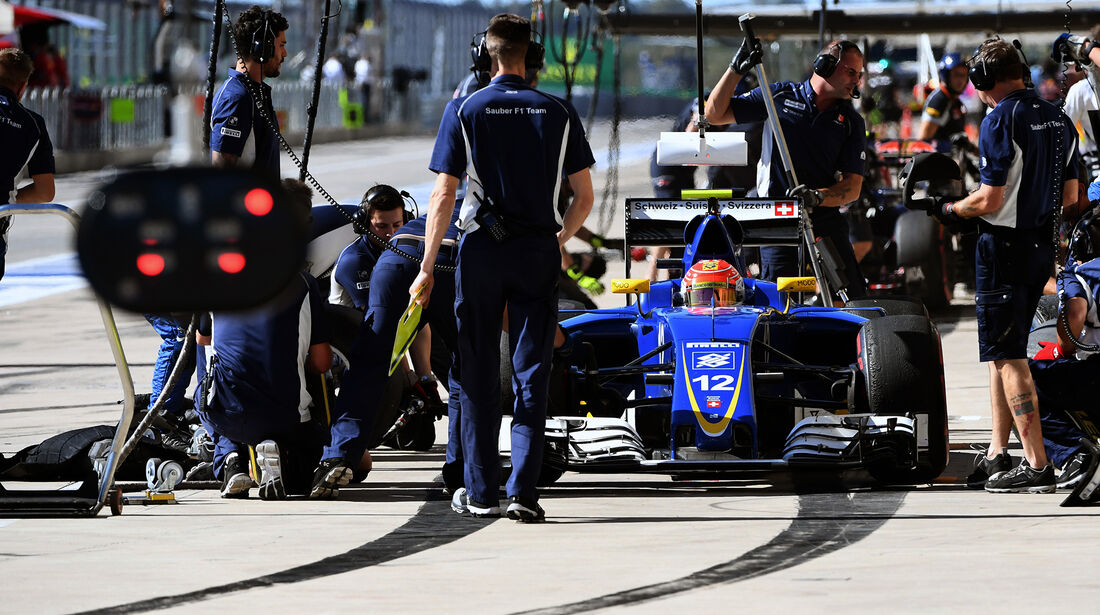 Felipe Nasr - Sauber - Formel 1 - GP USA - Austin - 21. Oktober 2016