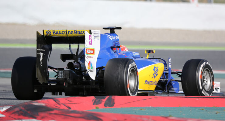 Felipe Nasr - Sauber - Formel 1-Test - Barcelona - 3. März 2016
