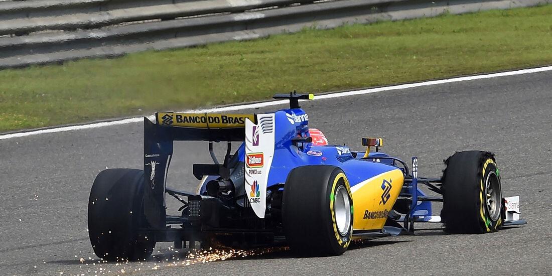 Felipe Nasr - Sauber - GP China 2016 - Shanghai - Rennen