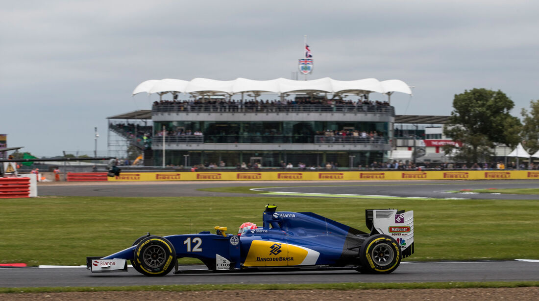 Felipe Nasr - Sauber - GP England - Silverstone - Qualifying - Samstag - 9.7.2016