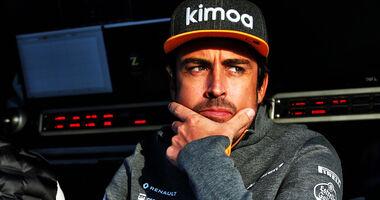 Fernando Alonso - Barcelona - F1-Test - 26. Februar 2019