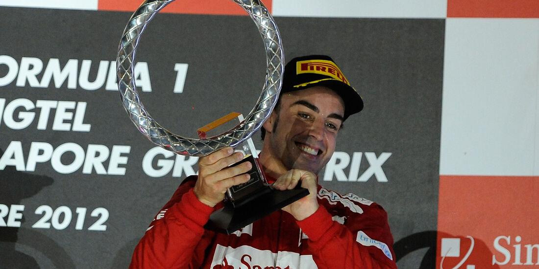 Fernando Alonso F1 Singapur 2012