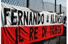 Fernando Alonso Fans - Formel 1 - GP Italien - 6. September 2012