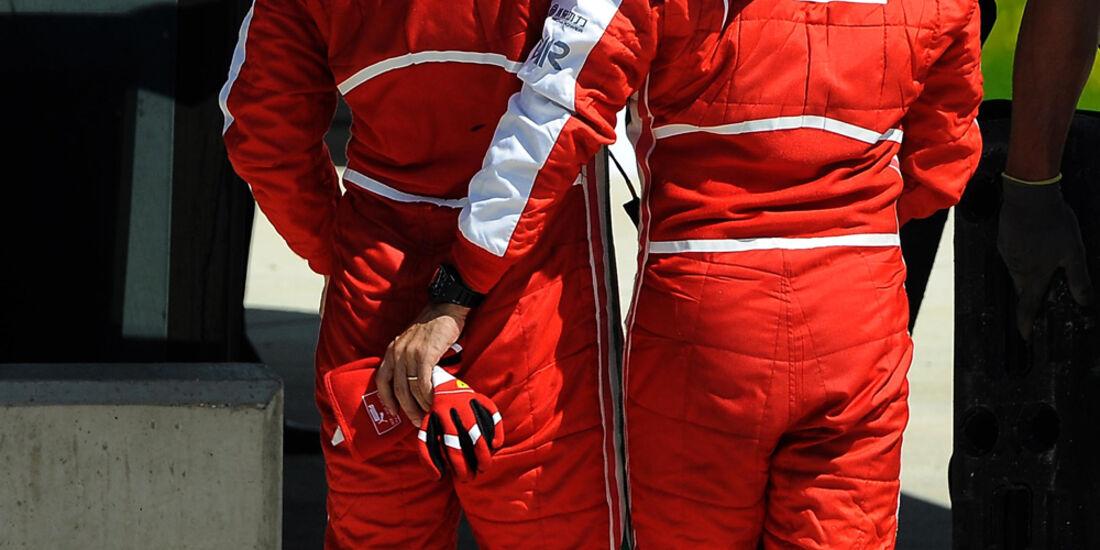 Fernando Alonso - Felipe Massa  - Formel 1 - GP England - 30. Juni 2013