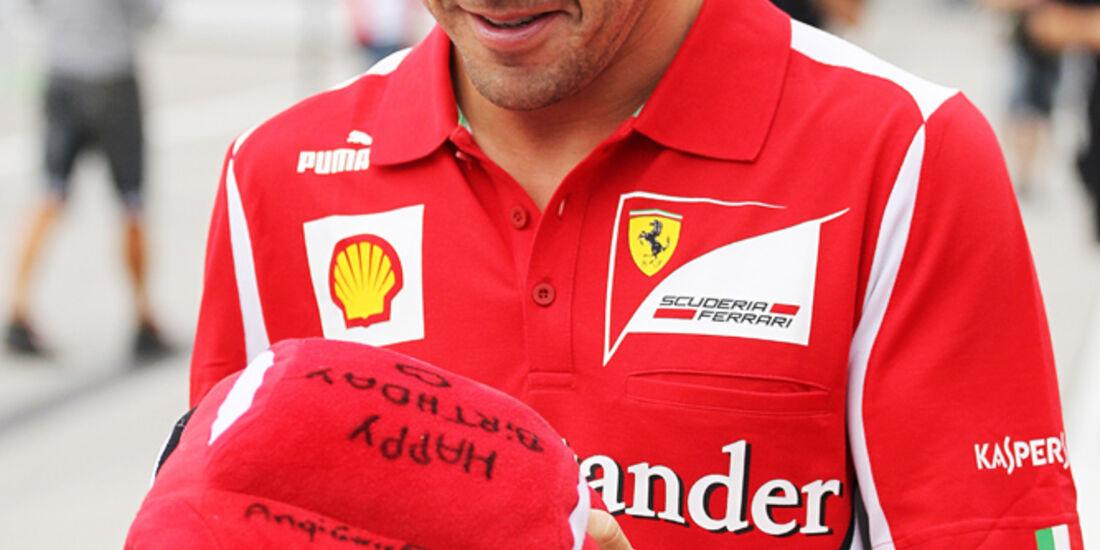 Fernando Alonso - Ferrari - Formel 1 - Budapest - GP Ungarn - 26. Juli 2012