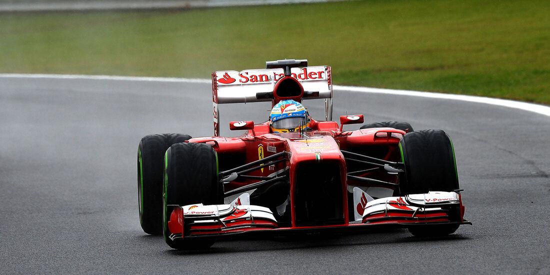 Fernando Alonso - Ferrari - Formel 1 - GP Brasilien - 22. November 2013