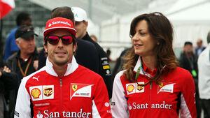 Fernando Alonso - Ferrari - Formel 1 - GP Kanada - Montreal - 5. Juni 2014