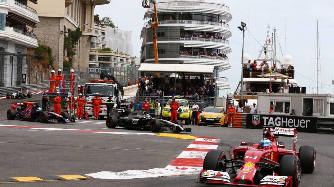 Fernando Alonso - Ferrari  - Formel 1 - GP Monaco - 25. Mai 2014
