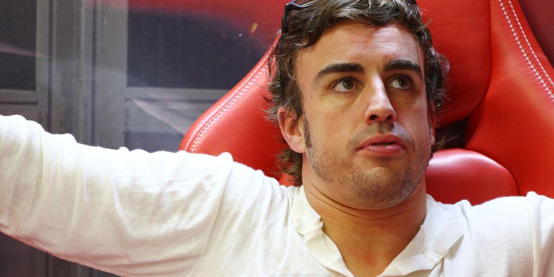 Fernando Alonso - Ferrari - Formel 1 - GP Singapur - 20. September 2013