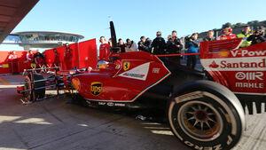 Fernando Alonso - Ferrari - Formel 1 - Jerez - Test - 30. Januar 2014