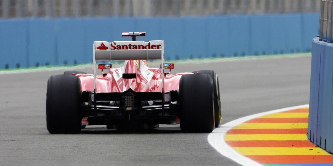 Fernando Alonso - Ferrari - GP Europa - Formel 1 - Valencia - 22. Juni 2012