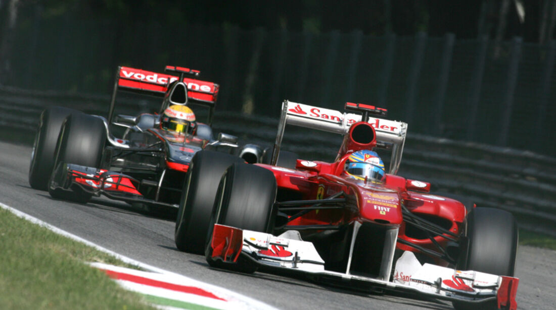 Fernando Alonso Ferrari GP Italien 2011