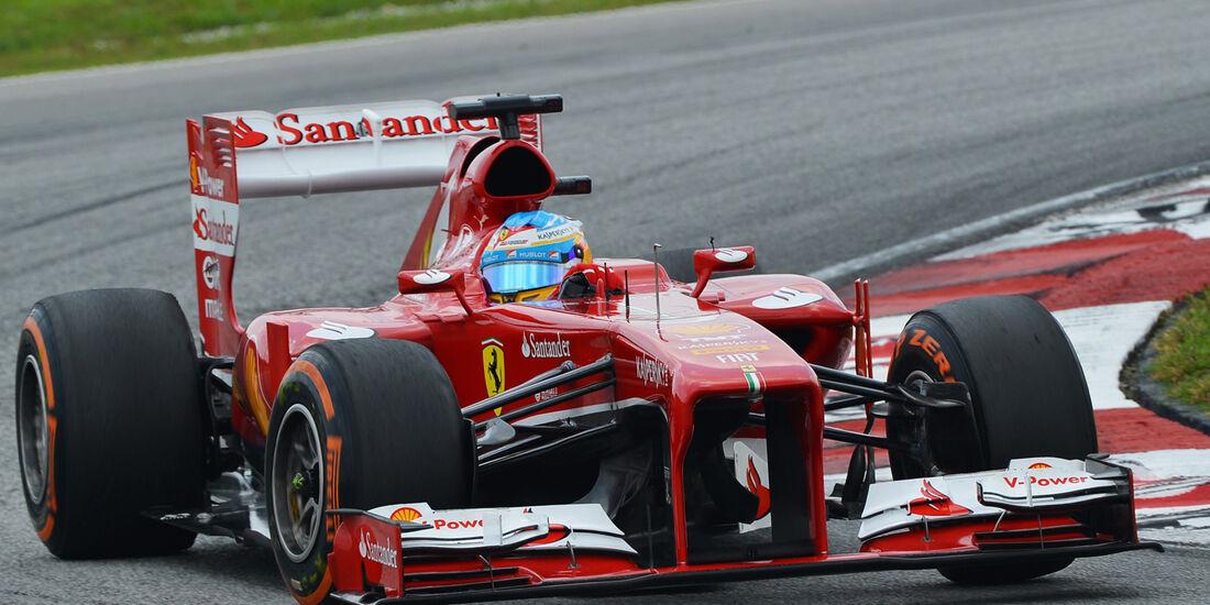 Fernando Alonso - Ferrari - GP Malaysia - 23. März 2013