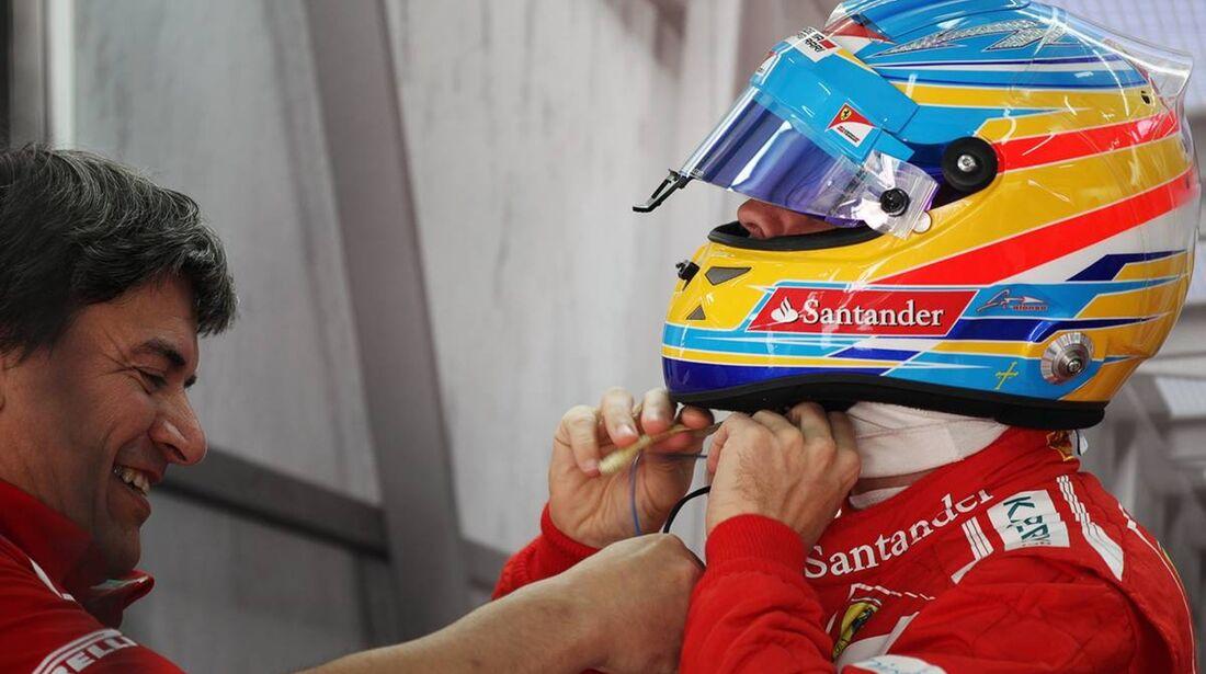 Fernando Alonso - Formel 1 - GP Bahrain - 20. April 2012
