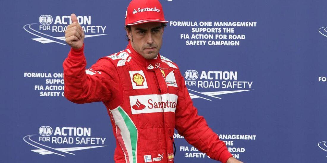 Fernando Alonso - Formel 1 - GP Deutschland - 21. Juli 2012