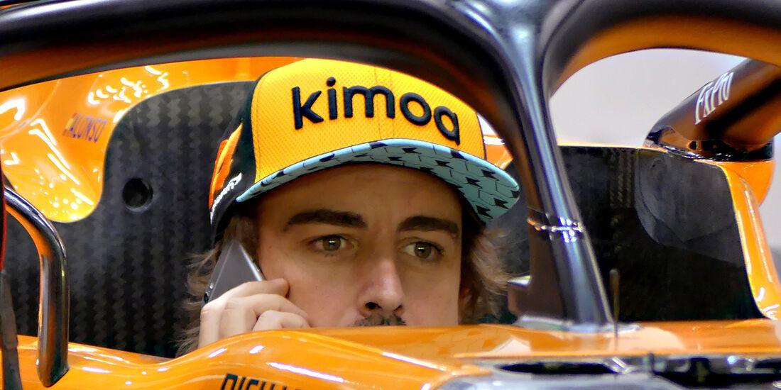 Fernando Alonso - Formel 1 - GP Singapur - 13. September 2018